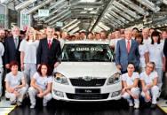 Škoda vyrobila třímiliontý vůz řady Fabia