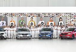 ŠKODA AUTO vyrobila 17miliontý automobil