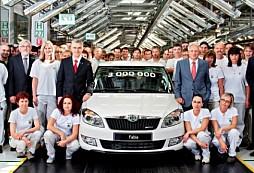 Škoda Fabia: tři miliony úspěchů