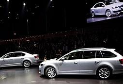 Světová premiéra vozu ŠKODA Octavia Combi na autosalonu v Ženevě