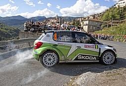 Skvělá stíhací jízda: Lappi dojel na Rally Sanremo na druhém místě