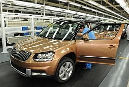 Zahájení výroby modelu ŠKODA Yeti v Číně